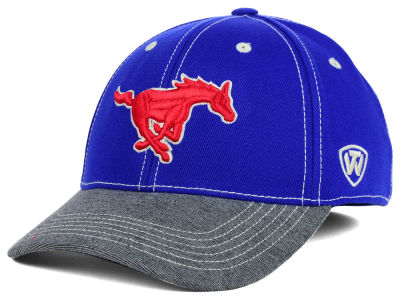 Southern Methodist Mustangs Top of the World NCAA D'Up Stretch Cap