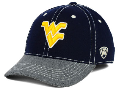 West Virginia Mountaineers Top of the World NCAA D'Up Stretch Cap