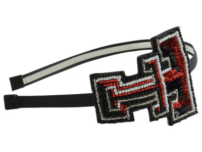 Texas Tech Red Raiders Horseshoe Glitter Hairband