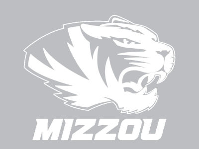 "Missouri Tigers Die Cut Decal 8""x8"""