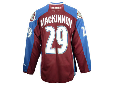 Colorado Avalanche Nathan MacKinnon Reebok NHL Men's Premier Player Jersey