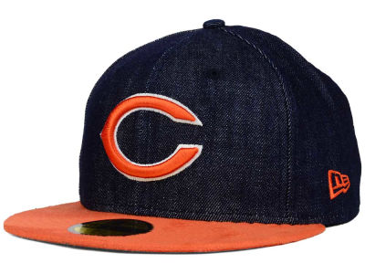 Chicago Bears New Era NFL Densuede 59FIFTY Cap