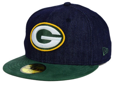 Green Bay Packers New Era NFL Densuede 59FIFTY Cap