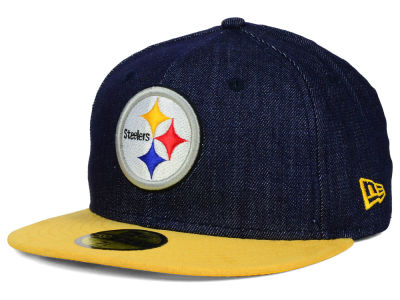 Pittsburgh Steelers New Era NFL Densuede 59FIFTY Cap