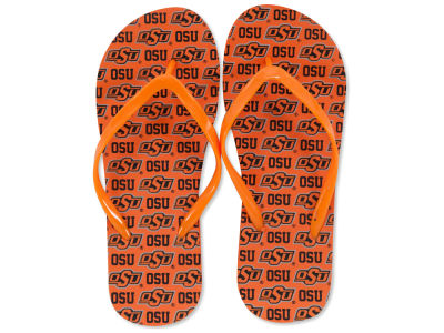 Oklahoma State Cowboys All Over Print Flip Flop