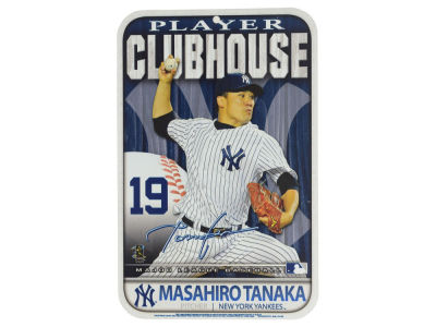 New York Yankees Mashiro Tanaka Clubhouse Sign