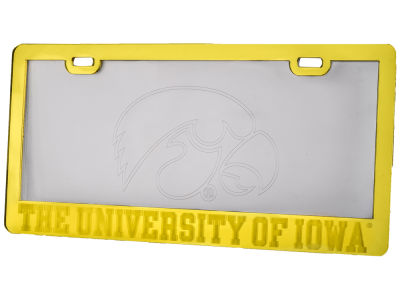 Iowa Hawkeyes Etched License Plate Frame