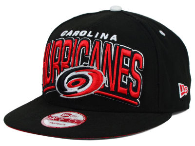 Carolina Hurricanes New Era NHL Back Up 9FIFTY Snapback Cap
