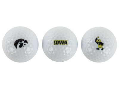 Iowa Hawkeyes NCAA Golf Ball 3 Pack