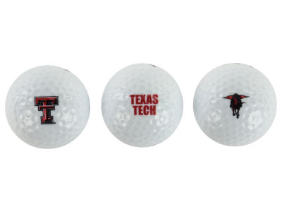 Texas Tech Red Raiders NCAA Golf Ball 3 Pack