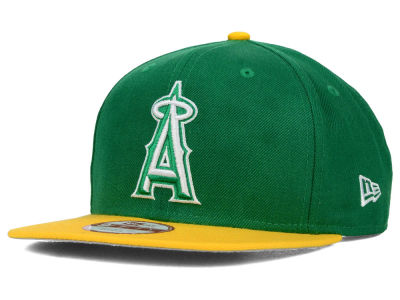 Los Angeles Angels New Era MLB Twisted Original Fit 9FIFTY Snapback Cap