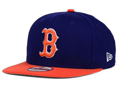Boston Red Sox New Era MLB Twisted Original Fit 9FIFTY Snapback Cap