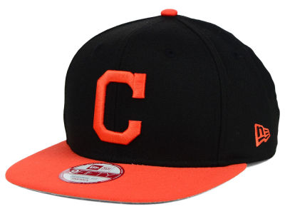 Cleveland Indians New Era MLB Twisted Original Fit 9FIFTY Snapback Cap