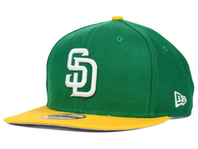 San Diego Padres New Era MLB Twisted Original Fit 9FIFTY Snapback Cap