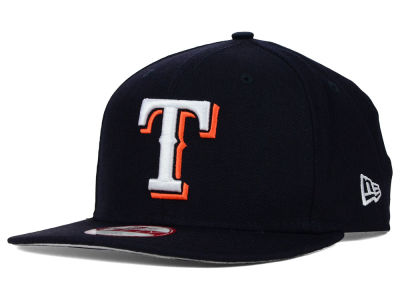 Texas Rangers New Era MLB Twisted Original Fit 9FIFTY Snapback Cap