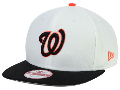 Washington Nationals New Era MLB Twisted Original Fit 9FIFTY Snapback Cap