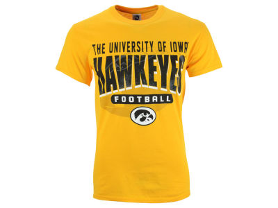 Iowa Hawkeyes NCAA Men's Screened Football T-Shirt