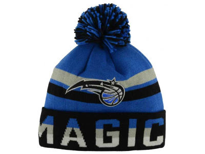 Orlando Magic Mitchell and Ness NBA Trifecta Cuffed Pom Knit