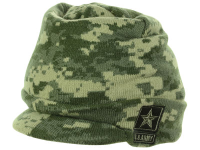 LIDS Private Label Army Strong Digi Camo Billed Knit