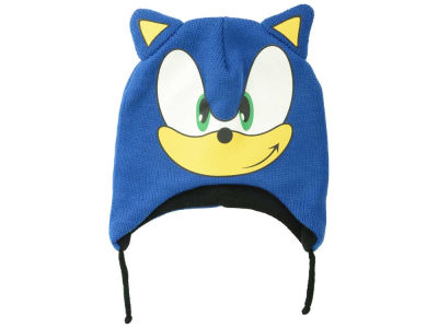 Sonic Sonic Youth Big Face with Ears Peruvian Knit