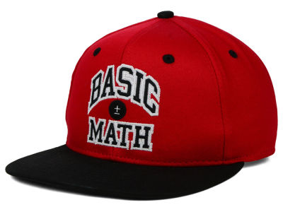 Basic Math Champ Arch Snapback Hat