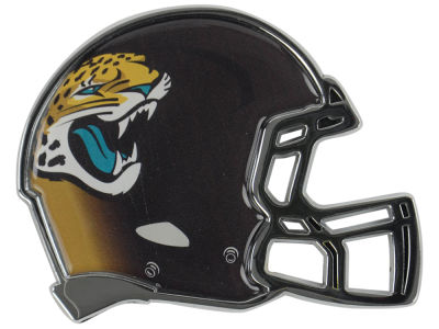 Jacksonville Jaguars Metal Helmet Emblem with Domed Insert