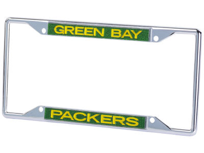 Green Bay Packers Glitter Laser Frame