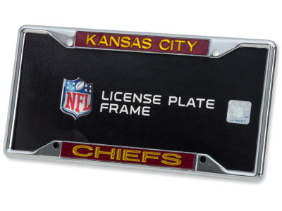 Kansas City Chiefs Glitter Laser Frame