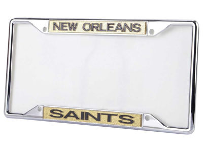 New Orleans Saints Glitter Laser Frame