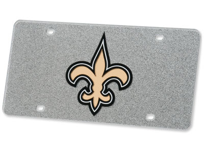 New Orleans Saints Glitter Laser Tag