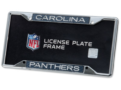 Carolina Panthers Carbon Laser Frame
