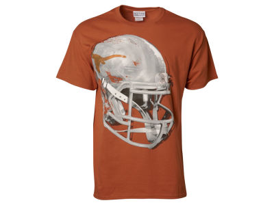 Texas Longhorns NCAA Men's Sideline Completion Helmet T-Shirt