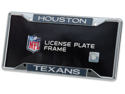 Houston Texans Carbon Laser Frame