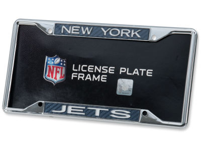 New York Jets Carbon Laser Frame