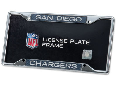 San Diego Chargers Carbon Laser Frame