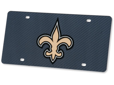 New Orleans Saints Carbon Laser Tag