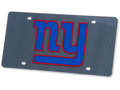 New York Giants Carbon Laser Tag