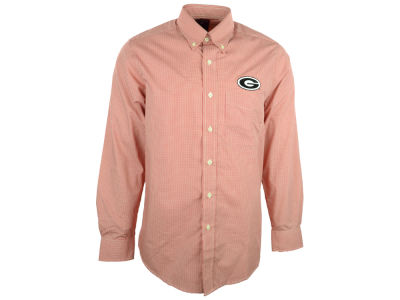 Georgia Bulldogs NCAA Focus Long Sleeve Woven Shirt