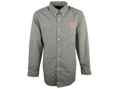 Illinois Fighting Illini NCAA Focus Long Sleeve Woven Shirt