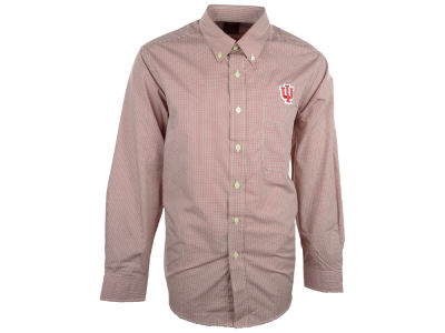 Indiana Hoosiers NCAA Focus Long Sleeve Woven Shirt