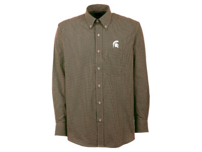 Michigan State Spartans NCAA Focus Long Sleeve Woven Shirt