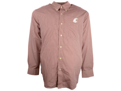 Washington State Cougars NCAA Focus Long Sleeve Woven Shirt