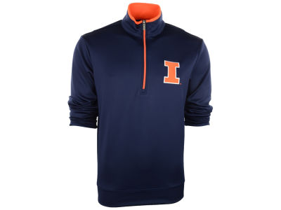 Illinois Fighting Illini Antigua NCAA Leader Pullover Quarter Zip