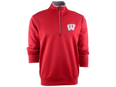 Wisconsin Badgers NCAA Leader Pullover Quarter Zip