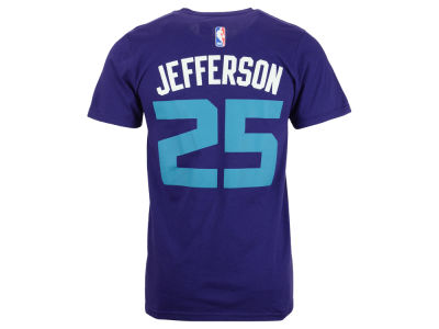 Charlotte Hornets Al Jefferson adidas NBA Men's Player T-Shirt