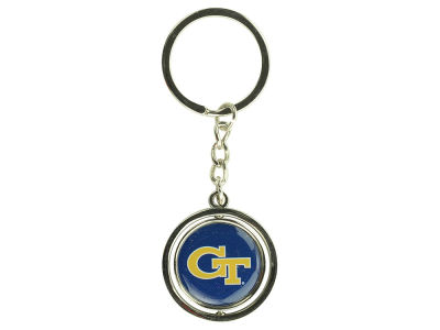 Georgia-Tech Spinning Keychain