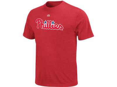 Philadelphia Phillies MLB Men's Official Wordmark 3X-4X T-Shirt