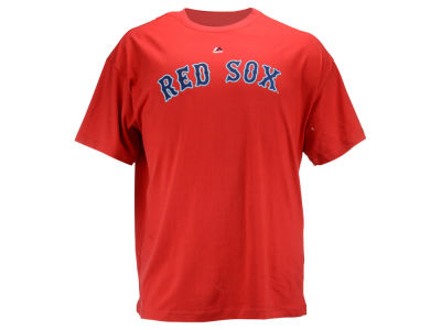 Boston Red Sox MLB Men's Official Wordmark 3X-4X T-Shirt