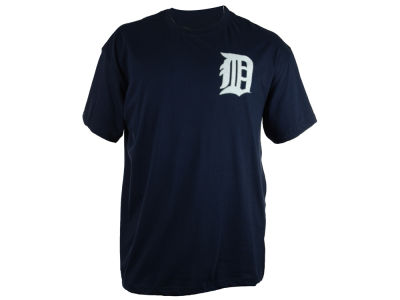 Detroit Tigers MLB Men's Official Wordmark 3X-4X T-Shirt