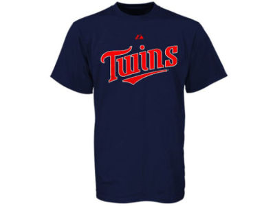 Minnesota Twins MLB Men's Official Wordmark 3X-4X T-Shirt